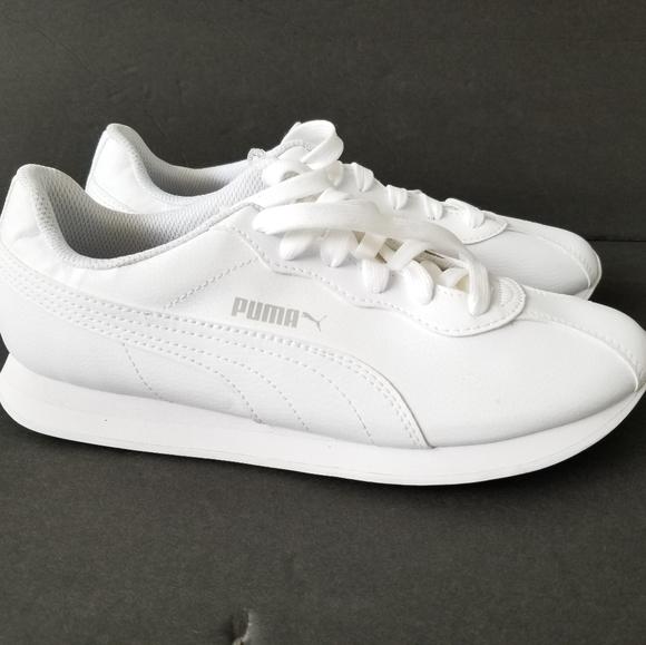 Puma Shoes | Turin White Sneakers Mens